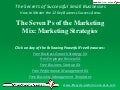 Video: The Seven Ps of the Marketing Mix: Marketing Strategies