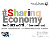 SharingEconomy: The Buzzword of the...
