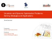 Uncertain and dynamic optimization ...
