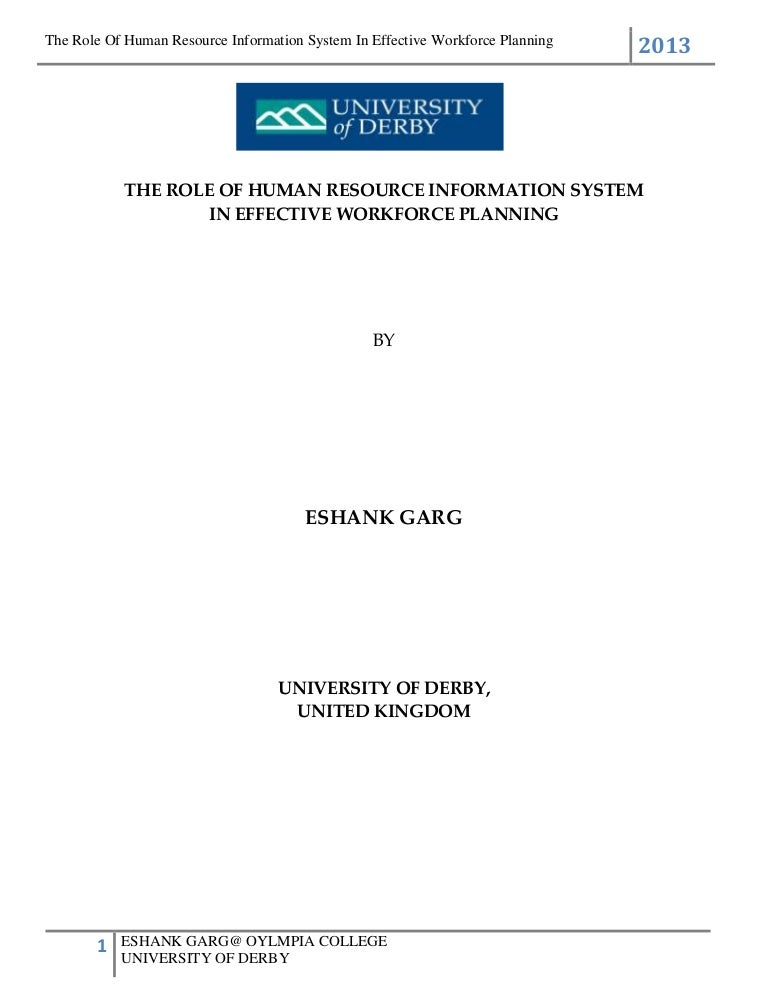 Dissertation training need analysis