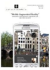 Augmented reality business models