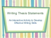 Thesis Identifying Activity