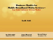 Master Thesis Presentation: Busines...