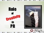Role of Creativity in Public Relations