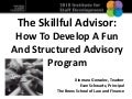 The skillful advisor, xiomara gonzalez