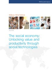 The Social Economy; Unlocking Value...