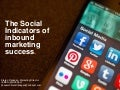 The social indicators of inbound marketing success