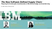 The Software Defined Supply Chain -...