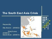 The South East Asia Crisis