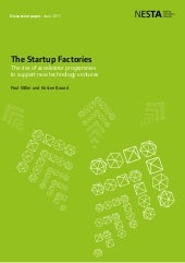 The Startup Factories: The Rise of ...