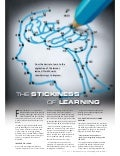 The stickiness of learning
