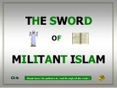 The sword of militant islam