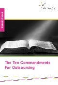 The ten commandments for outsourcing