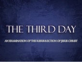 The Third Day - The Trials Of Jesus...