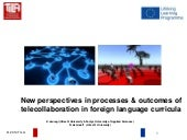 New perspectives on processes and outcome of telecollaboration in foreign language curricula