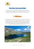 The top 10 best treks in the world