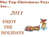 The top christmas toys for 2011