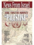 "The Truth About "" Palestine"" -  News From Israel -  Feb 2007"