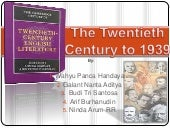 The twentieth century to 1939