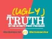 The (Ugly) Truth of the Loyalty Point Program: What Marketers Say vs. What Customers Hear