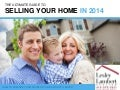 The Ultimate Guide To Selling Your Western MA Home in 2014