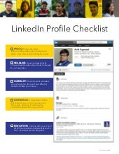 The Ultimate LinkediIn Profile Checklist For Students