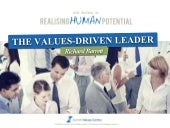 The Values-Driven Leader - Richard Barrett