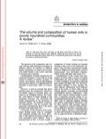 The Volume And Composition Of Human Milk In Poorly Nourished Communities   A Review