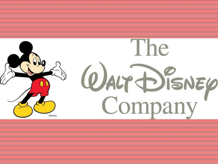Writing a paper on the Disney Corporation.?