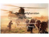 The war in afghanistan pp