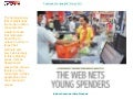 The web nets young spenders