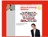 The website marketing bible   one o...