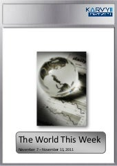 The World This Week - Nov 7 - Nov11'2011