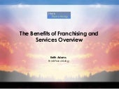 Think Franchising  - The Benefits O...