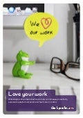 Think productive - We Love Our Work