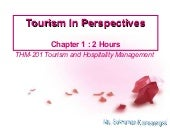 Thm 201 2  Tourism In Perspectives ...