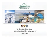 Thompson Creek Metals Company Inc. video