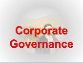 corporate governance theories and practices