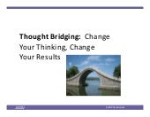 Thought Bridging AICPA Controllers Conference 2015