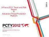 PCTY 2012, Threat landscape and Sec...