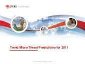 Threat predictions 2011