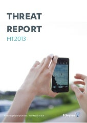 Threat report h1_2013