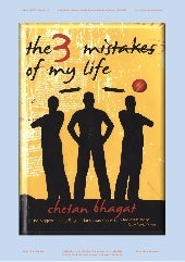 Three mistakes of my life~chetan bh...