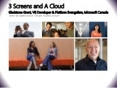Mobiz: Three-Screen and the Cloud P...