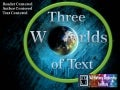 Three Worlds of Text (From All Nations Leadership Institute)