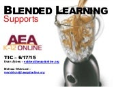 Blended Learning Supports