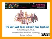 The Best Web Tools to Boost Your Te...