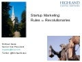 Startup Marketing: Rules for Revolutionaries