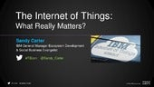 The Internet of Things (IoT) - What...