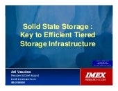 Key to Efficient Tiered  Storage In...